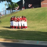 Photo taken at Rhoads Stadium by Alex M. on 5/4/2012