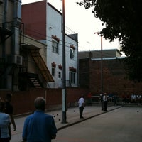 Photo taken at Little Italy Bocce Court by Dan F. on 5/24/2012