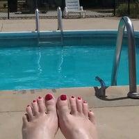 Photo taken at Poolside by Kari M. on 7/16/2012