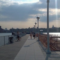 Photo taken at East River Ferry - India St/Greenpoint Terminal by Justin M. on 6/28/2012