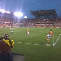 Photo taken at BBVA Compass Stadium by Eva K. on 5/16/2012