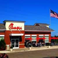 Photo taken at Chick-fil-A Macedonia by T.J. P. on 8/1/2012