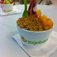 Photo taken at Yogoberry Original by Douglas W. on 9/2/2012