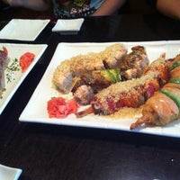 Photo taken at Sushi Hana Fusion Cuisine by Chris L. on 4/20/2012
