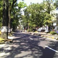 Photo taken at Jalan Ir. H. Djuanda by Prasetyo A. on 7/28/2012