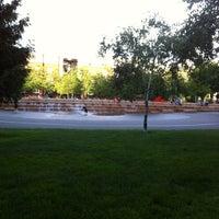 Photo taken at Jamison Square Park by Richard W. on 6/7/2012