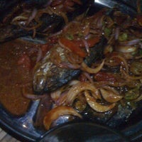 Photo taken at NADZE - NADZE TILAPIA JOINT. MADINA by Kweku O. on 4/1/2012