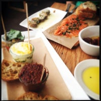 Photo taken at Café Ba-Ba-Reeba! by Becky J. on 8/25/2012