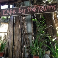 Photo taken at Café by the Ruins by Geremy A. on 4/29/2012