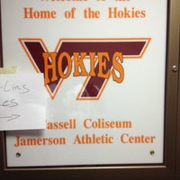Photo taken at Cassell Coliseum by Ethan G. on 7/20/2012