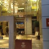 Photo taken at Sheraton Guangzhou Hotel 广州喜来登酒店 by HN on 8/24/2012