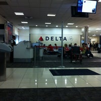 Photo taken at Concourse A by Paulo Henrique G. on 6/7/2012