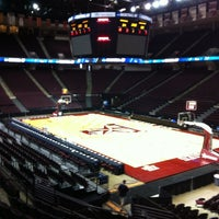 Photo taken at Reed Arena by Blair C. on 3/16/2012