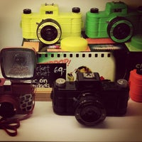 Photo taken at Lomography Gallery Store Madrid-Argensola by Mateo Robles M. on 3/24/2012