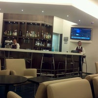 Photo taken at The Centurion Lounge by American Express by Oswaldo P. on 4/4/2012