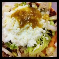 Photo taken at Tacos El Gavilan by Lorena R. on 8/6/2012