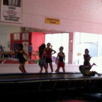 Photo taken at Dobre Gymnastic academy by Shashi B. on 3/17/2012