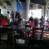 Photo taken at Papouli's Greek Grill by Christopher M. on 3/22/2012