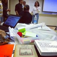 Photo taken at Escola Superior de Propaganda e Marketing (ESPM) by Marcelo P. on 8/31/2012
