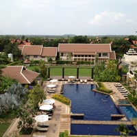 Photo taken at Angkor Miracle Resort & Spa by n W. on 5/1/2012