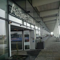 Photo taken at Aalborg Airport (AAL) by Wouter v. on 2/6/2012