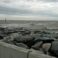 Photo taken at Point Lookout State Park by Charlene J. on 8/25/2012
