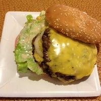 Photo taken at Mahaloha Burger by Toby T. on 9/5/2012