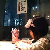 Photo taken at NYLON CAFE by Watanabe Y. on 3/18/2012