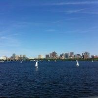 Photo taken at Harvard Bridge by MH C. on 6/1/2012
