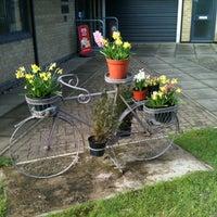 Photo taken at Cardiff Caravan Park by Robbie G. on 3/18/2012