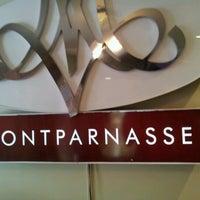 Photo taken at Montparnasse by Diego L. on 6/17/2012