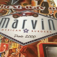 Photo taken at Marvin American Burgers by Lílian G. on 9/7/2012