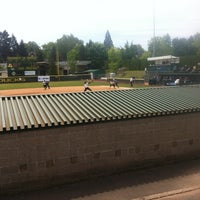 Photo taken at Howe Field by Stephanie A. on 5/18/2012