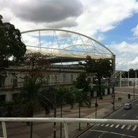 Photo taken at Olympic Stadium (Engenhão) by Fabio on 8/18/2012