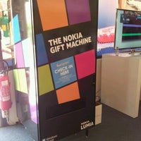 Photo taken at Nokia Gift Machine @ App Campus – Disrupt San Fran by Natalia S. on 6/22/2012