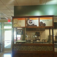 Photo taken at Einstein Bros Bagels by sunny on 7/30/2012