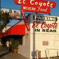Photo taken at El Coyote by Jack C. on 6/7/2012