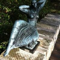 Photo taken at Umlauf Sculpture Garden by Tara P. on 2/26/2012