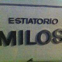 Photo taken at Estiatorio Milos by LUNETZ M. on 3/23/2012