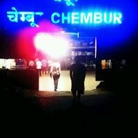 Photo taken at Chembur Railway Station by Prakrit D. on 8/2/2012
