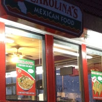 Photo taken at Carolina's Mexican Food by Cisco da kidd on 3/6/2012