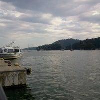 Photo taken at 松島湾遊覧船乗り場 by Hiroshi N. on 8/16/2012
