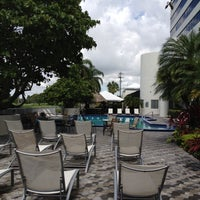 Photo taken at Sheraton Miami Airport Hotel & Executive Meeting Center by Tom P. on 7/16/2012