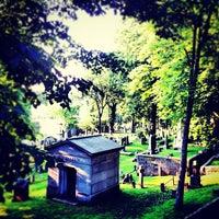 Photo taken at Trinity Church Cemetery & Mausoleum by Chris B. on 5/28/2012