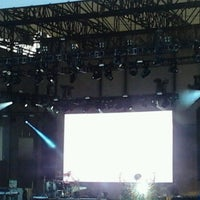 Photo taken at FirstMerit Bank Pavilion at Northerly Island by Hugo T. on 7/28/2012