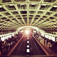 Photo taken at Metro Center Metro Station by Jose V. on 5/4/2012