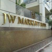 Photo taken at JW Marriott Hotel Miami by Jen A. on 3/10/2012