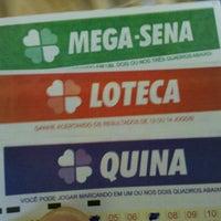 Photo taken at Loteria Cantinho da Sorte by Brunno d. on 6/22/2012