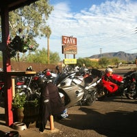 Photo taken at Cave Creek Coffee Company by Chris S. on 7/22/2012