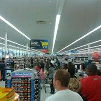 Photo taken at Walmart Supercenter by Eric S. on 8/13/2012